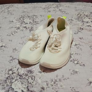 New white runners with neon green